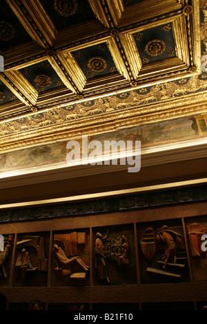 modern art exhibit at vatican museum rome italy - Stock Photo