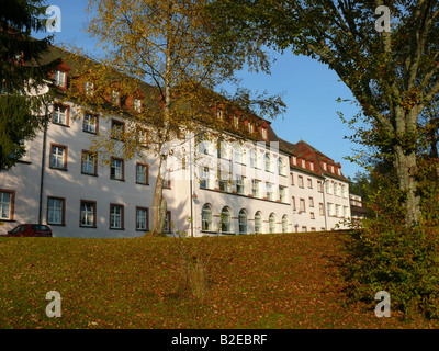 Facade of medical building, Baden-Wuerttemberg, Germany - Stock Photo