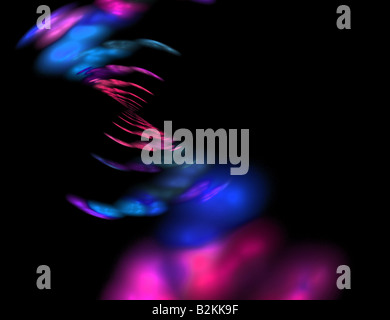 Abstract fractal artwork that makes a great high tech art element or background for any design project - Stock Photo