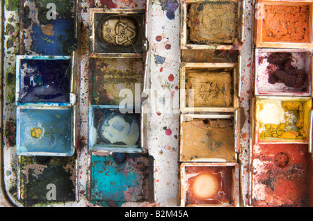 Paint box - Stockfoto