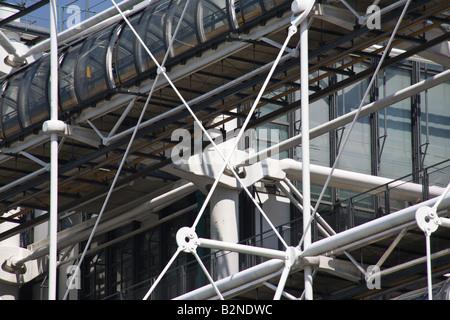 Pompidou Centre Paris France - Stock Photo