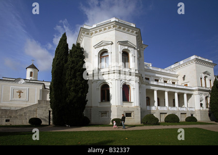 The Livadia Palace, Livadia, Ukraine - Stock Photo