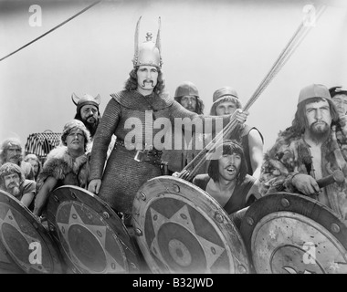 VIKING WARRIORS - Stock Photo
