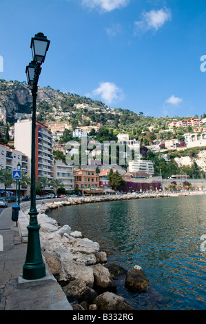 View of Villefranche harbour, Villefranche sur Mer, Cote d'azur, France - Stockfoto