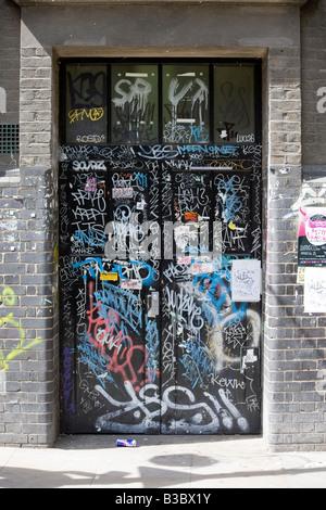 England, London, Shoreditch, Brick Lane, Wall Mural Stock ...