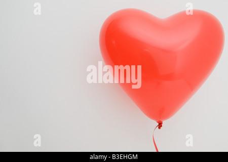 Heart shaped balloon - Stockfoto