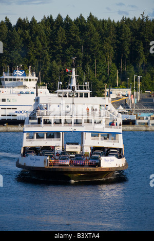 Mayne Island Ferry From Vancouver