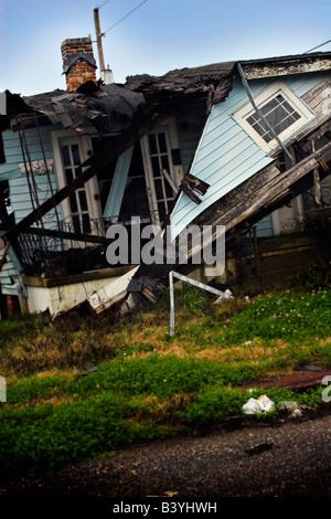Hurricane Damage After Katrina Stock Photo Royalty Free