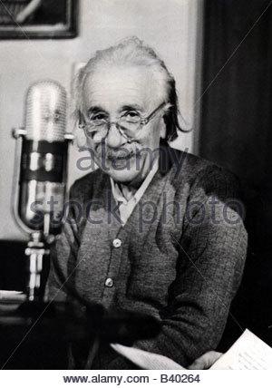 Einstein, Albert, 14.3.1879 - 18.4.1955, American - German scientist (physicist), portrait, Nobel Prize for Physics - Stockfoto