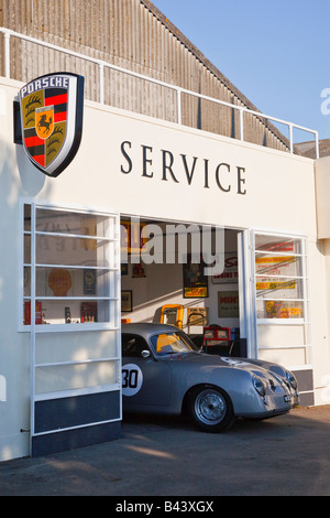 the art deco style of the woad corner ferrari car sales showroom of stock photo royalty free. Black Bedroom Furniture Sets. Home Design Ideas