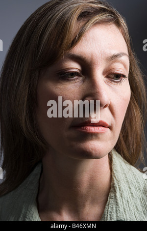 Face of a woman - Stock Photo