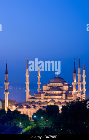 Sultan Ahmed Mosque Blue Mosque Turkey Istanbul - Stock Photo