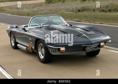 Car Chevrolet Corvette Mako Shark Model Year 1961
