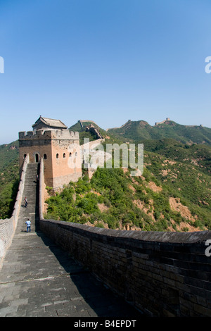 The Great Wall of China at Jinshanling - Stock Photo