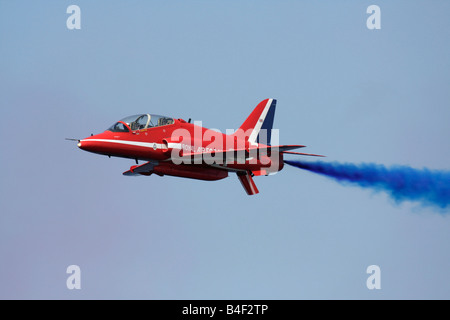 Royal Air Force Red Arrows Hawk - Stock Photo