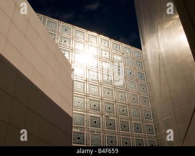 Institut du Monde Arabe in Paris France, Autumn 2008 - Stock Photo