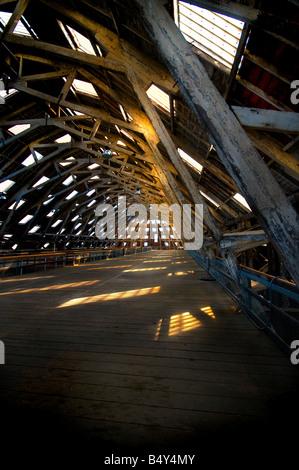 No 3 Slip Cover Chatham Historic Dockyard in Kent. - Stock Photo