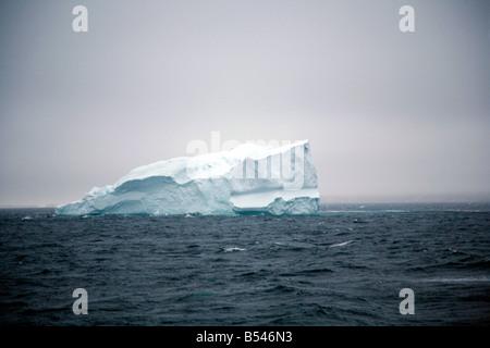 Aug 2008 - Iceberg along the southwest coast Greenland - Stock Photo