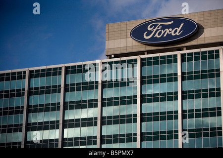 The ford motor company factory detroit michigan usa for Ford motors corporate office