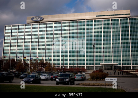 Ford motor company world headquarters dearborn michigan for Ford motors corporate office