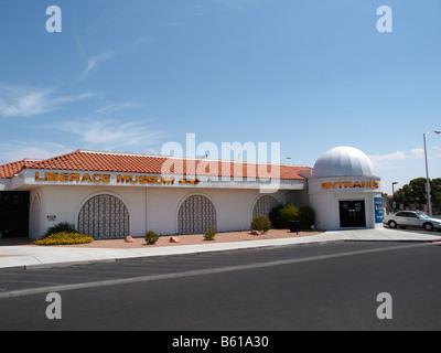 Nevada Southwest Las Vegas Liberace Museum Famous
