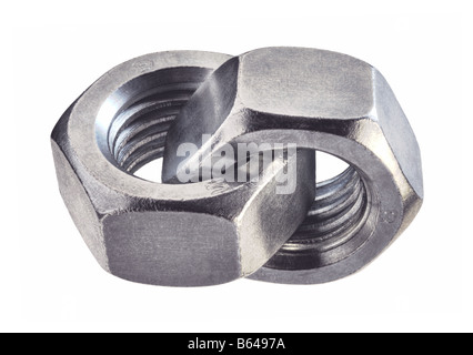 Bolts joined together - Stock Photo