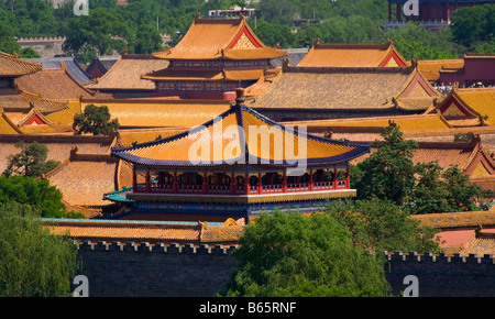 Forbidden City Emperor s Palace Beijing China - Stockfoto