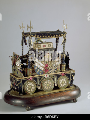 Wellington Funeral Carriage - Stock Photo