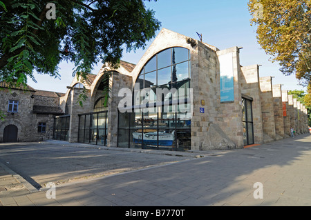 Barcelona Maritime Museum (Museu Maritim), Catalonia, Spain Stock Photo, Roya...