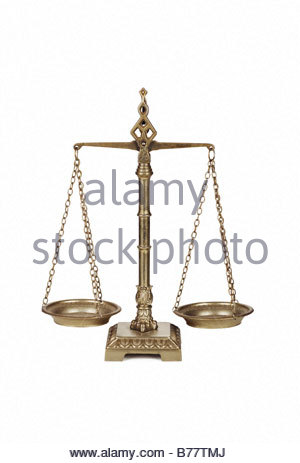 Balance scales - Stock Photo