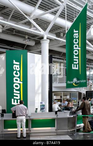 Europcar Car Rental Munich Airport