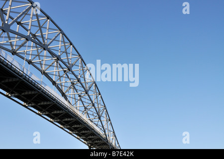 Bridge Over Cape Cod Canal Showing Steel Girders And