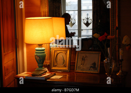 Interior of a flat in Paris - Stock Photo