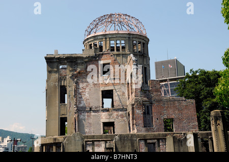 Hiroshima Japan Japanese The A Bomb Dome - Stock Photo