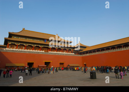 Forbidden City Beijing China - Stockfoto