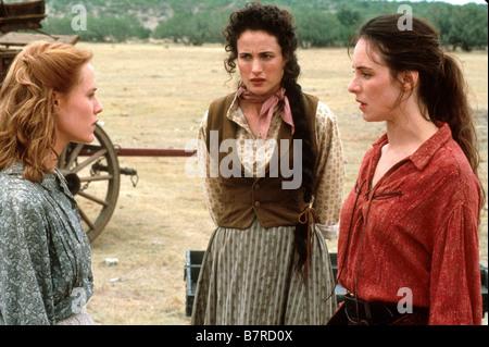 Les belles de l ouest Bad Girls Année 1994 usa Andie MacDowell Mary Stuart Masterson Madeleine Stowe Réalisateur - Stock Photo