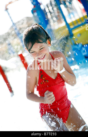 Children playing in wading pool stock photo royalty free image 48592858 alamy for Public swimming pools in riverside ca