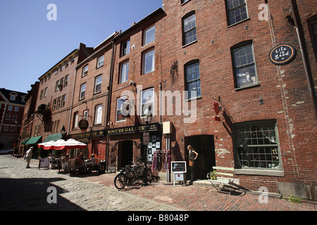 Portland maine historic old port district long wharf lucky - Portland maine hotels old port district ...