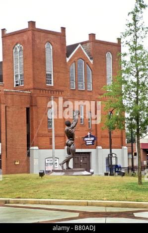 Ebenezer Baptist Church, home of Dr Martin Luther King Jr. Atlanta, Georgia, USA - Stock Photo