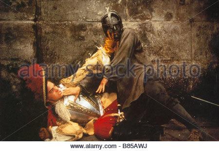 l homme au masque de fer Année 1997 The Man in the Iron Mask Année 1997 uk Leonardo DiCaprio Réalisateur Randall - Stockfoto