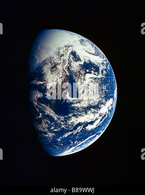 Earth From Space Sw - Usa, Nw - Mexico - Stock Photo