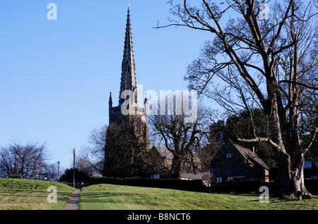 All Saints Church, Braunston, Northamptonshire, England, UK - Stock Photo