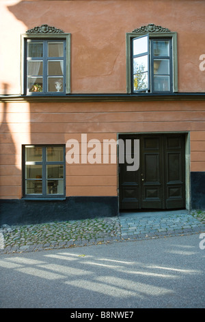 Sweden, Stockholm, house exterior - Stock Photo