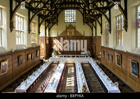 Trinity college cambridge dining hall stock photo royalty for Dining hall interior