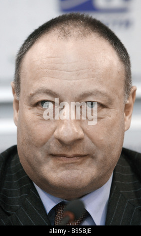 Vladimir Slutsker member of the Federation Council and chairman of the United Commission on Nationalities Policy - Stock Photo