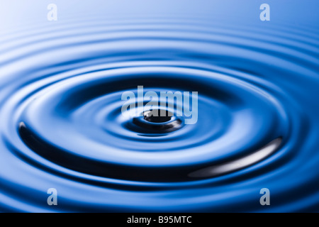 Ripples on water surface - Stock Photo