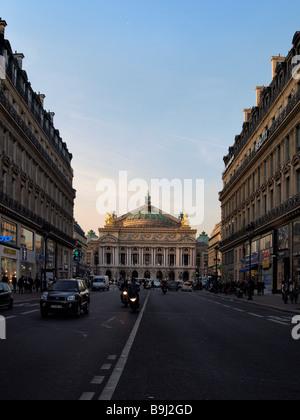 Opera Garnier, old opera, Paris, France, Europe - Stock Photo