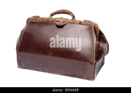 old luggage bag - Stock Photo