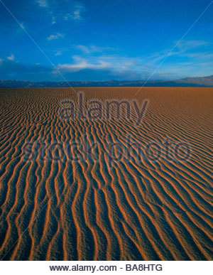 Sanddüne Wellen, Death Valley Nationalpark, Kalifornien - Stockfoto
