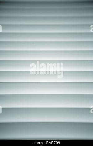 A Closed Venetian Blind. - Stock Photo